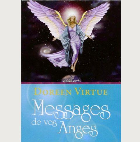Coffret cartes divinatoires messages de vos anges - Doreen Virtue