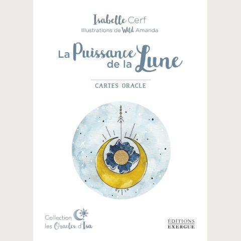 Coffret de cartes divinatoires La Puissance de la Lune - Isabelle Cerf
