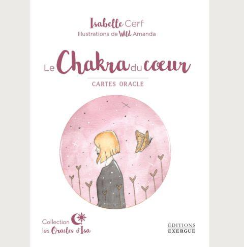 Coffret de cartes divinatoires Le chakra du cœur- Isabelle Cerf