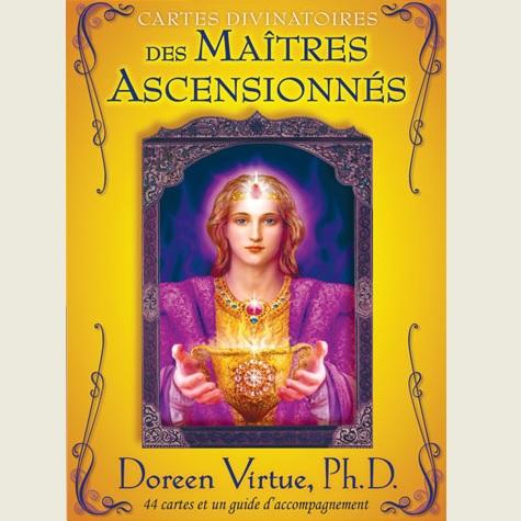Coffret cartes divinatoires des maîtres ascensionnés - Doreen Virtue