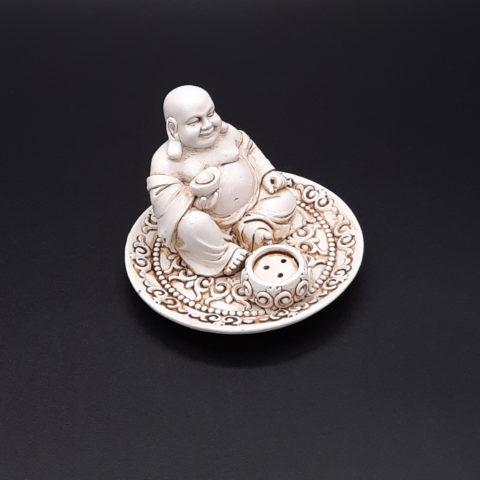 Porte-encens Happy Bouddha