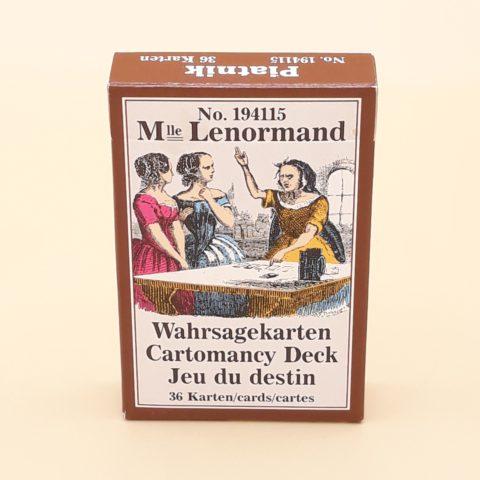 Jeu Tarot Mlle Lenormand - 36 cartes - version de l'Est