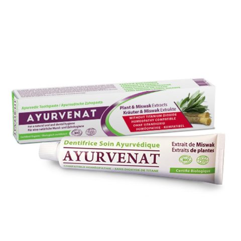 Dentifrice au Miswak Ayurvédique Bio - 750 ml