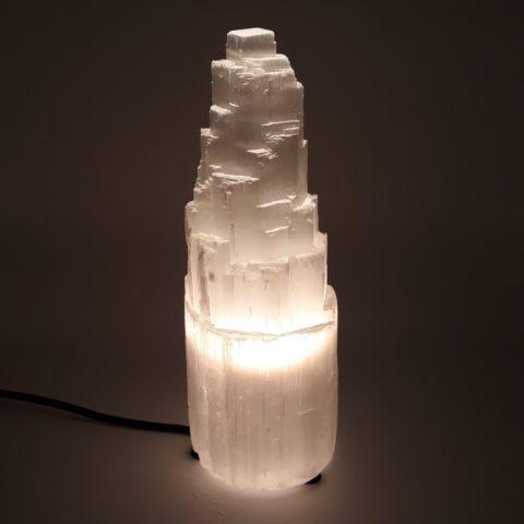 Lampe en Sélénite - 25cm