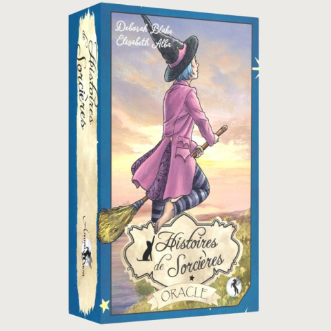 L'Oracle Histoires de Sorcières - Deborah Blake et Elisabeth Alba - Editions Arcana Sacra