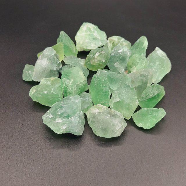 Fluorite verte brute - Pierre semi-précieuse