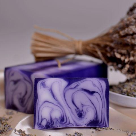 """Savon aromatique """"Lavande"""" - Handmade"""